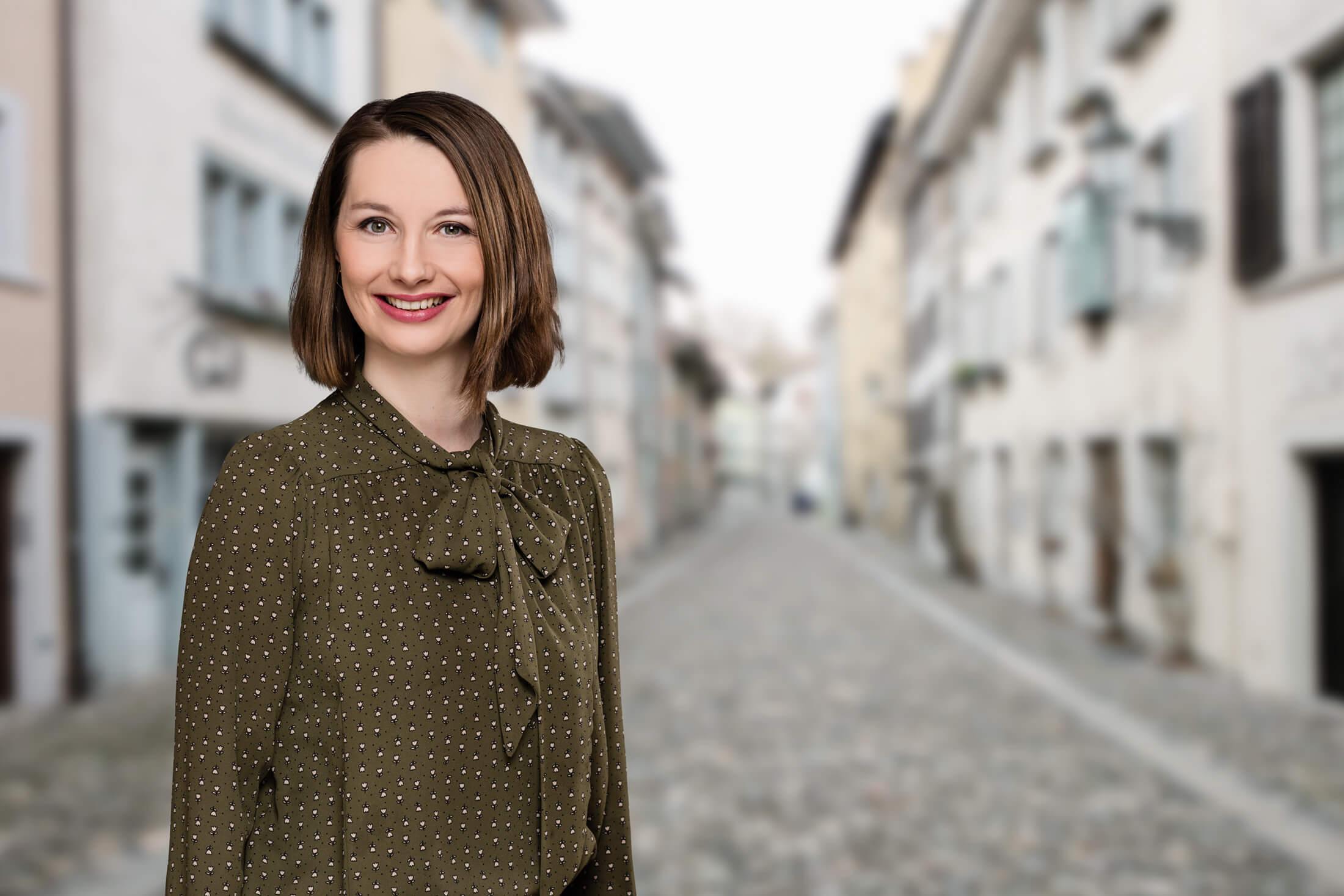 Portrait mit Altstadt